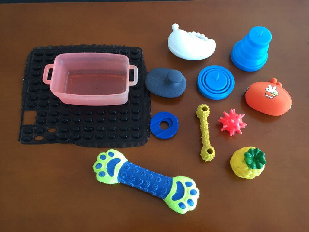 Image description: Silicone molded parts