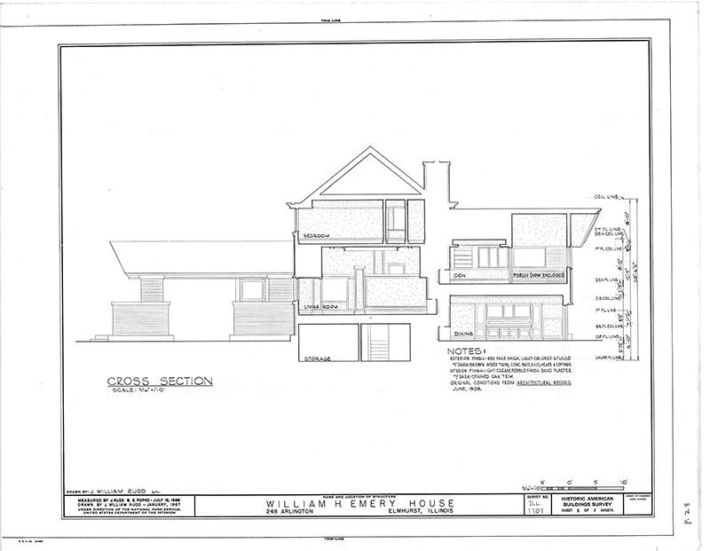 Image description: House Cross Section
