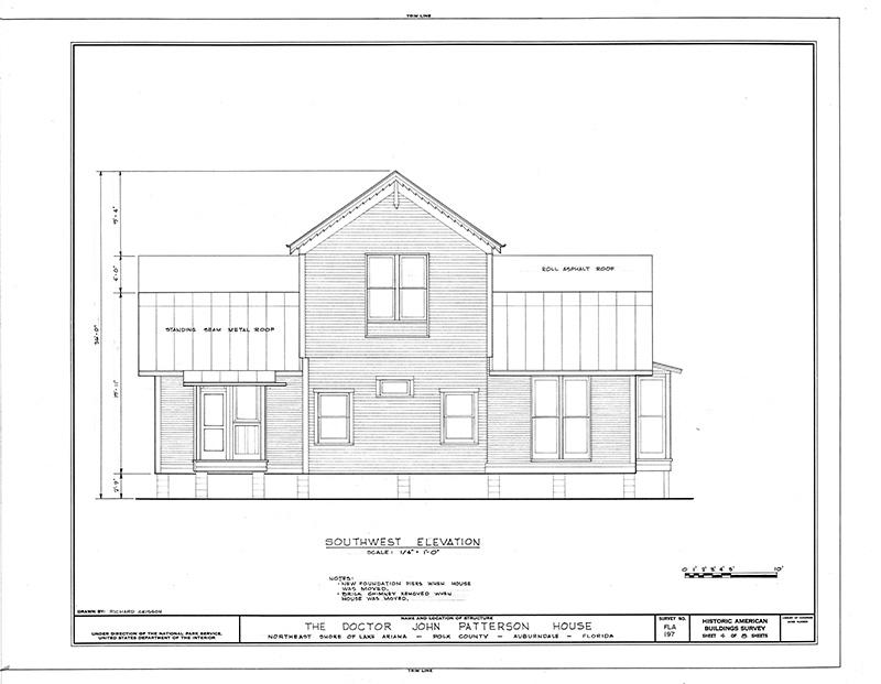 Image description: House Elevation
