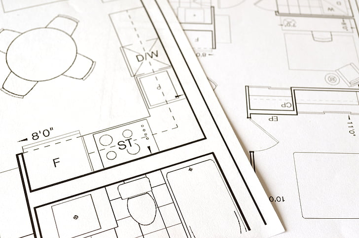 Image description: House blueprint
