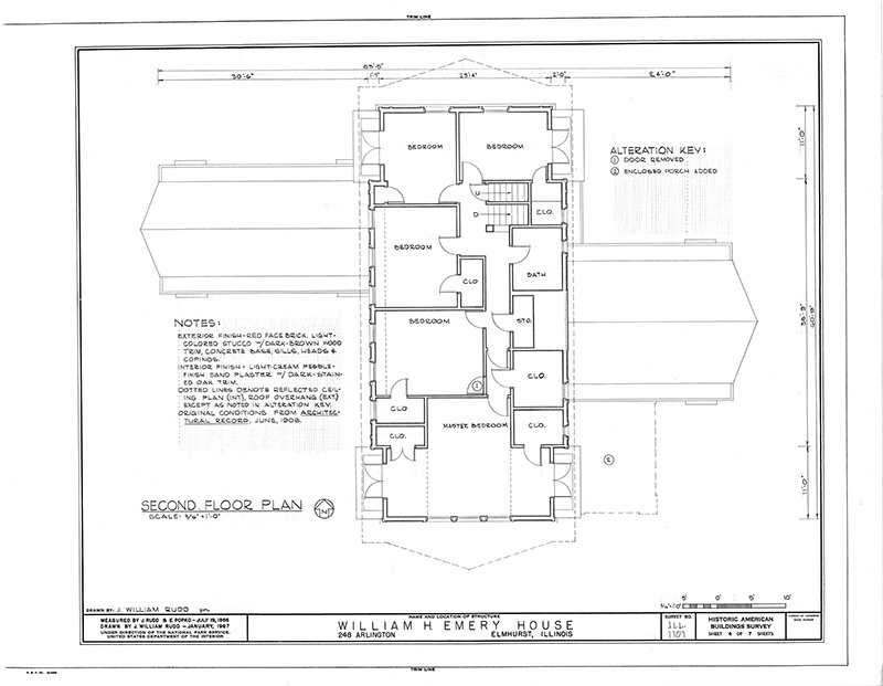 Image description: Building Floorplan